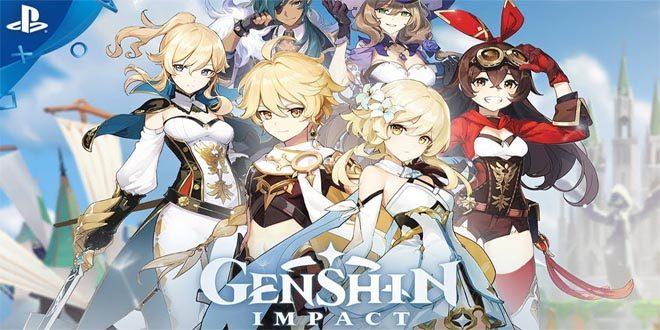 Genshin Impact 5 Karakter Bintang 4
