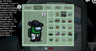 Ubah Persona Karakter Anda di Game Among Us