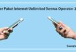 Daftar Paket Internet Semua Operator